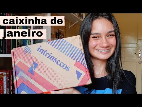 UNBOXING DO CLUBE INTRÍNSECOS ? (janeiro/2021)    Amid Books