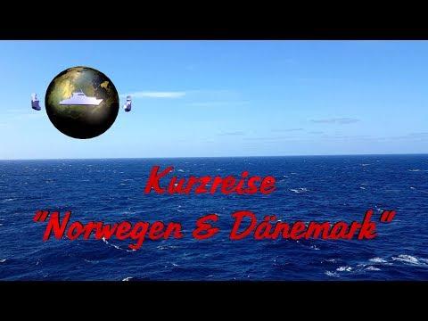 "4-tägige AIDA Kreuzfahrt ""Kurzreise Norwegen & Dänemark""  -  Reise-Vorschau"