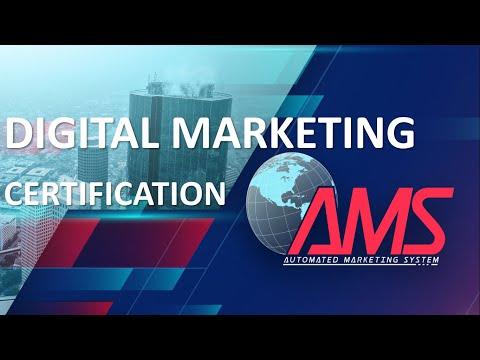 AMS DIGITAL MARKETING CERTIFICATION