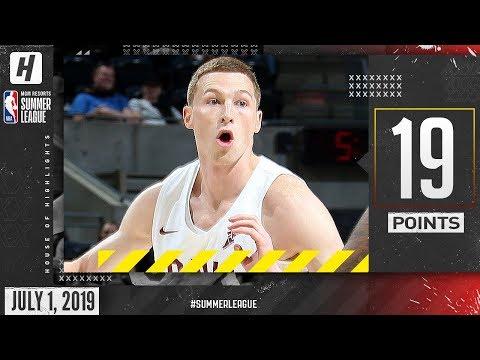 Dylan Windler Full Cavaliers Debut Highlights vs Spurs (2019.07.01) Summer League - 19 Points!