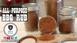 The perfect ALL PURPOSE BBQ RUB - Secret Recipe Revealed