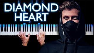 Alan Walker   Diamond Heart | Piano Cover (feat. Sophia Somajo)