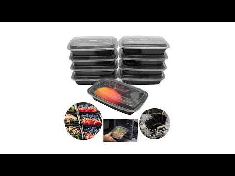 Unboxing: Meal Prep Food Containers With Lids Reusable