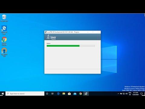 Cómo instalar Java JDK en Windows 10 (con JAVA_HOME)