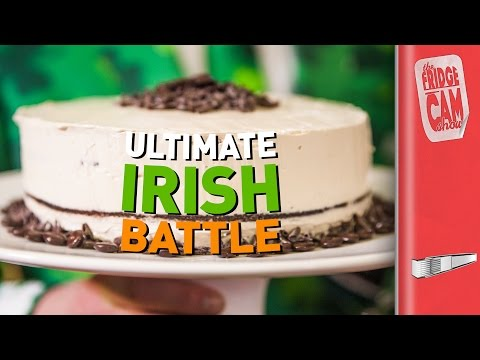 THE ULTIMATE ST PATRICK'S DAY BATTLE | FridgeCam