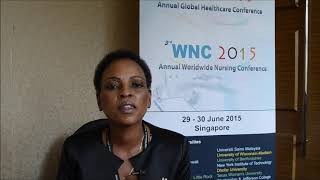 Mrs. Agnes Makhene at WNC Conference 2015 by GSTF