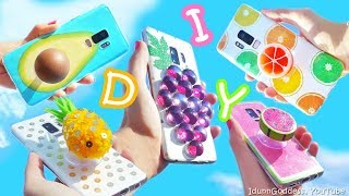 5 DIY Fruit Phone Cases And Phone Grips – How To Make Phone Cases And Grips Shaped Like Fruits
