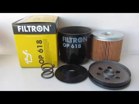 Масляный фильтр Filtron OP618