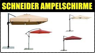 TOP 5 SCHNEIDER AMPELSCHIRME ★ Schneider Ampelschirm Rhodos ★ Ampelschirm Rhodos Junior, Venus,...