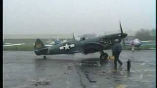 preview picture of video 'Mark Hanna Spitfire PL965 Final Engine Tests Rochester 29 1 93'