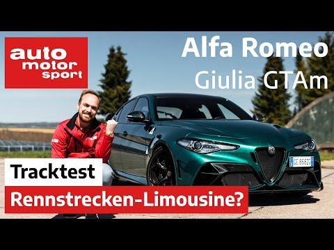 Alfa Romeo Giulia GTAm (2021): Totgesagte leben länger! – Fahrbericht/Review   auto motor und sport