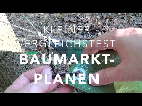Plane vs. Plane - Baumarkt-Planen im Vergleich! :-)
