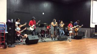 Jump & Jam Rock Camp Rehearsal Smells Like Teen Spirit