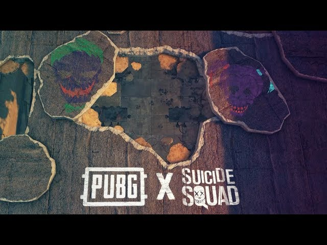 PUBG, Warner Bros  Team Up for Suicide Squad-Themed Skins
