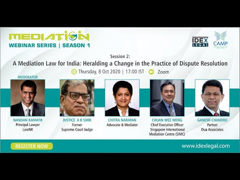 Mediation Law for India