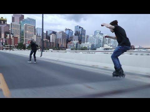 Happiness on Inline Skates