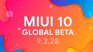 MIUI 10 GLOBAL BETA 9.3.28 | ANDROID 9.0 ДЛЯ REDMI NOTE 5 | ТЕМНЫЙ РЕЖИМ