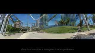 preview picture of video 'Turismo Virtual, Parc Diagonal Mar, Barcelona'