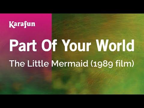 Karaoke Part Of Your World - The Little Mermaid *