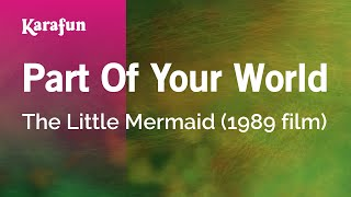 Karaoke Part Of Your World - The Little Mermaid *
