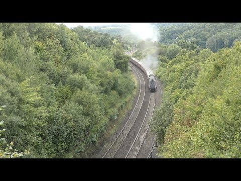 LNER 60009 'Union of South Africa' storms Sapperton Bank wit…