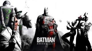 All Batman: Arkham City Cutscenes Movie {HD}