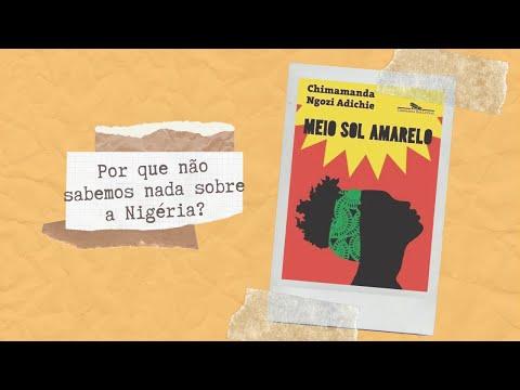 MEIO SOL AMARELO - LENDO LITERATURA AFRICANA