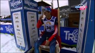 Чемпион мира среди юниоров по лыжным гонкам Роман Кайгародов