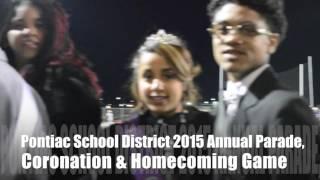 DWoodsNews Presents Pontiac School District 2015 Parade KickOff