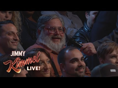 Behind the Scenes with Jimmy Kimmel and Audience (Yankees Thumbs Down Guy)