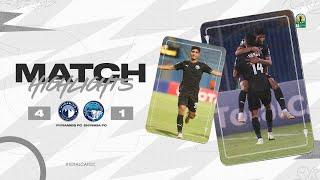 CAF CC | Quart de finale Aller : Pyramids FC 4 – 1 Enyimba FC