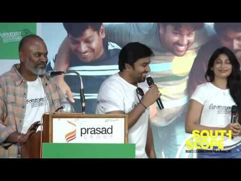 Venkat Prabhu Mirchi Shiva speaks at Chennai 600028 II audio launch