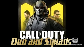 Call Of Duty mobile duo and squads with Firestone