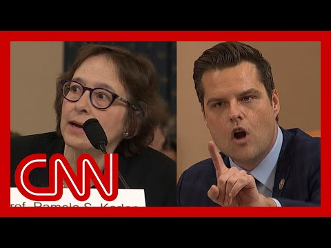 Impeachment hearing gets heated: You don't get to interrupt me!