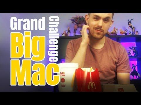 Grand Big Mac Meal Challenge!