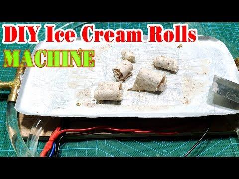 How to make a Ice Cream Rolls Machine
