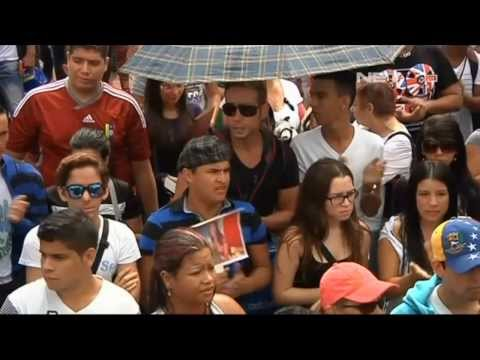 NET17 - Demo warga Venezuela tentang kematian Miss Venezuela