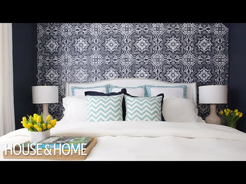 Interior Design — Before & After Bedroom On A Budget