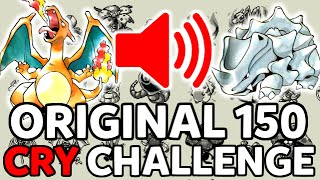 Original 150 Pokemon CRY Challenge!! - MandJTV Pokevids