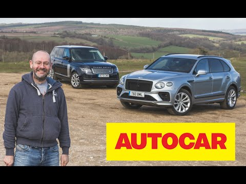 New 2021 Bentley Bentayga vs Range Rover review | two luxurious SUVs tested | Autocar