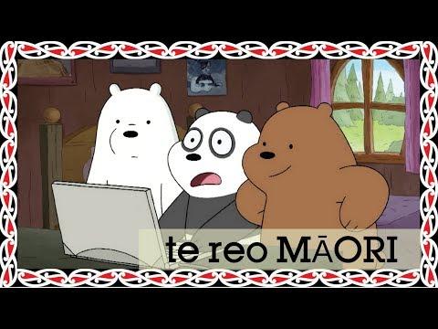 We Bare Bears | Panda's Profile Pic (Māori) | Cartoon Network