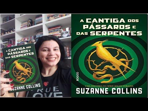 A cantiga dos pássaros e das serpentes é maravilhoso,sim!📗�Resenha📗Suzanne Collins + minha coleção