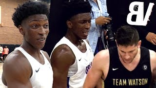 Stanley Johnson 2018 Drew League DEBUT Cut SHORT! Game CANCELLED In 3rd Quarter