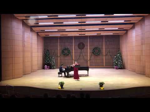 This is a short video of me playing on my senior recital!