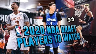 LaMelo Ball is Going #1!? 2020 Draft Preview Feat. Cole Anthony, Mac McClung & More 😱