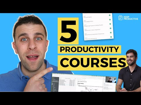 5 Productivity & Time Management Courses to Try - YouTube