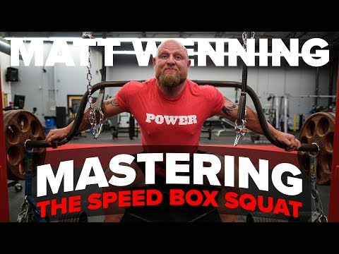 SPEED BOX SQUAT Workout For Huge Gains