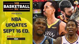 NBA Updates   News And Trade Rumors   Sept 16, 2019