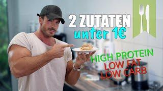 Protein Pancakes   nur 2 Zutaten