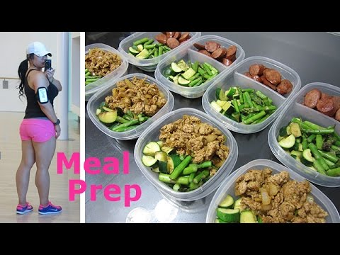 Video EASY MEAL PREP! - Ground Turkey & Veggies